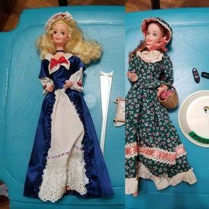 American Stories Colonial and Pioneer Barbie